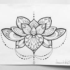 Bildresultat för mandalalotus flower tattoo
