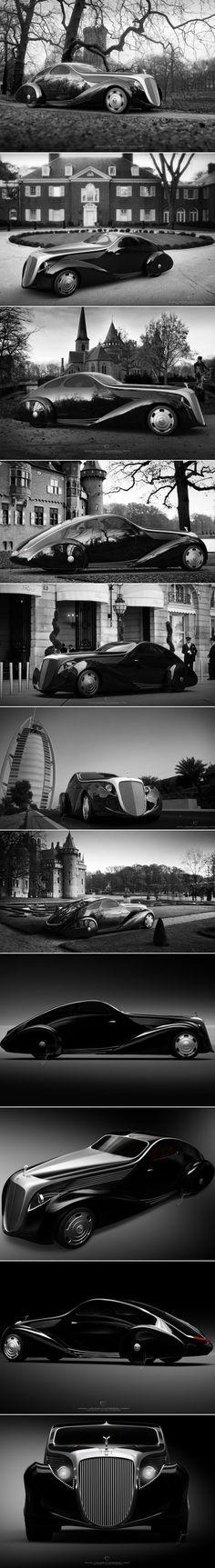 Rolls Royce Jonckheere Aerodynamic-Coupe by Ugur Sahin