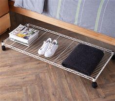 Underbed Dorm Storage Essential College Supplies - Dorm Space ...