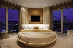 On top of the world: Developer Tudorvale describes the penthouses as the finest uber-prime residencies in the City of London