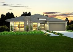 Beach House - Facades | McDonald Jones Homes