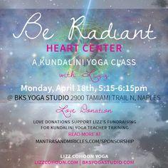 Promotional design for Kundalini Yoga class. Graphic Design. Celestial. Heart Center. Donation.