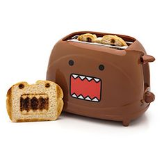 ThinkGeek :: Domo Toaster