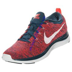 You cant beat this fashion Running Shoes Nike, Nike Shoes, Shoes Sneakers, Nike Flyknit Lunar 1, Navy And White, Nike Free, Fashion Looks, Bright, Blue