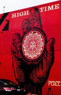 SHEPARD FAIREY http://www.widewalls.ch/artist/shepard-fairey/ #contemporary #art #streetart