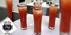 "Michelada ένα καλοκαιρινό δροσερό κοκτέιλ με βάση τη μπύρα που μας έρχεται από τη Λατινική Αμερική. Από την εκπομπή ""Κάθε Μέρα Chef με τον Βαγγέλη Δρίσκα"". Δείτε τη συνταγή στο βίντεο: Beer, Tableware, Glass, Root Beer, Ale, Dinnerware, Drinkware, Tablewares, Corning Glass"