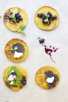 Chickpea Flour Crepes + Summer Berry Marmalade