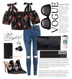 """""""🍵"""" by marinaiplikci on Polyvore featuring Topshop, Rebecca Taylor, Gianvito Rossi, Mahi, Muse, Tory Burch, Ted Baker and NARS Cosmetics"""