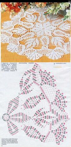 36 Ideas For Crochet Doilies Unique Decor Free Crochet Doily Patterns, Crochet Doily Diagram, Crochet Mandala, Filet Crochet, Crochet Motif, Crochet Designs, Crochet Books, Crochet Art, Thread Crochet