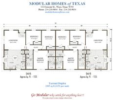 1000 images about home on pinterest mobile home floor for Prefab duplex house plans