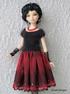 OOAK outfit for ELLOWYNE WILDE