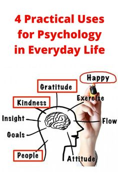 4 Practical Uses for Psychology in Everyday Life