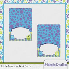 images of monsters inc baby shower | Monsters Inc inspired baby shower, printable table tent cards, great ...