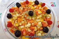 Receita de Salada de Frutas Delícia