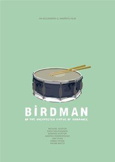 'Birdman': Minimalist Posters