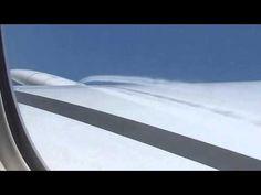 Спутный поток. Полет из Гонконга, SU 213. 09.05.2013 - YouTube