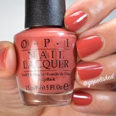 Yank My Doodle is a gorgeous terra cotta polish with mauve undertones. New from the OPI Washington DC Collection 2016 (Fall/ Winter). Opi Nail Polish, Opi Nails, Nail Colors, Swatch, Washington Dc, Doodle, Detail, Instagram Posts, Terra Cotta