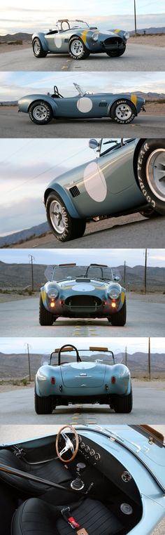 50th Anniversary CSX7000 FIA Continuation Cobra by Shelby American Inc.
