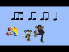 """Ритмическое упражнение для детей """"Шумовой оркестр 4-4"""". Видео состоит из двух частей. В первой части каждая нота подсвечивается, что позволяет легко выучить ... Preschool Music Activities, Reading Activities, Bucket Drumming, Drum Patterns, Music Beats, Music School, Primary Music, Music Classroom, Teaching Music"""