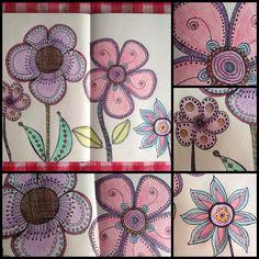 Doodle a flower...