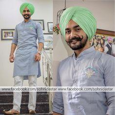 Indian Men Fashion, Mens Fashion Suits, Mens Suits, Boy Fashion, Punjabi Kurta Pajama Men, Punjabi Boys, Wedding Dresses Men Indian, Wedding Dress Men, Formal Men Outfit
