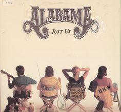 Alabama Just Us Vinyl LP Record Album