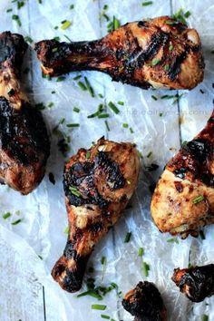 Balsamic Glazed Grilled Chicken {Paleo & Gluten Free}