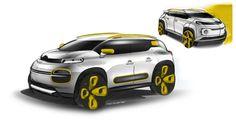 2017 Citroën C-Aircross Concept