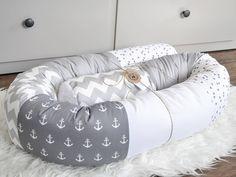 Bettumrandung nestchen selber nähen ohne schnittmuster