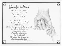 Grandpa Poems From Granddaughter | Make selection on Order Now ...