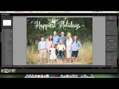 Creating a Christmas Card in Lightroom + FREE Christmas Overlays | Pretty Presets for Lightroom