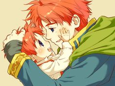 Eliwood and Roy fire emblem - Google Search