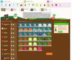 """Troisième étape:  Plantez """"virtuellement"""" les espèces et variétés sur votre parcelle. Nos producteurs locaux s'occuperont de donner vie à votre potager !  www.monpotager.com/potager"""