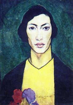 Natan Altman (selfportrait, 1911, GRM) - Nathan Altman - Wikipedia, the free encyclopedia
