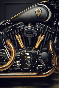 In stock form the Harley-Davidson Softail Slim is already a simple, vintage-styled bobber. So it's a great platform for customization—and who better to unleash its potential than Winston Yeh of Rough Crafts? Yeh is one of the top Harley builders out there, and this Softail has his signature all over it. That means dark tones, clean lines and flawless finishes. Hit the link to see more images of this amazing machine.