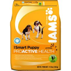 Iams ProActive Health Dry Dog Food - Smart Puppy Formula 17.5lb Bag - $17.88
