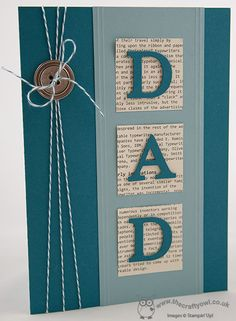 The Crafty Owl's Blog | Father's Day Card