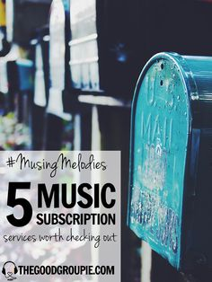 Vinyl Me, Please, VNYL, The Music Box...how do you decide which music subscription services to join? Here's 5 I think are pretty rad. | thegoodgroupie.com