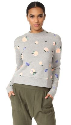Etre Cecile Peaches Sweatshirt