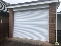 Whether you're looking for Brown Garage Doors or fancy our Grey Roller Garage Door collection, a garage roller door installation can transform your garage.  #whitedoor #whitegaragedoor #whitegaragedoors #whitehome #whitegarden #whiteexterior #whiteinterirdesign #whitegarden #whitegaragedoorideas #whitegarage