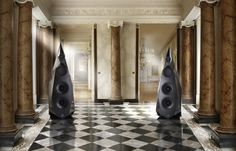 Tesseract ;statement speakers for a statement room .
