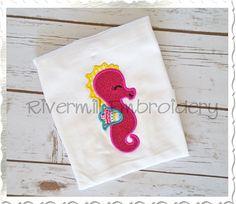 $2.95Applique Seahorse Machine Embroidery Design