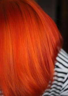 The Dainty Squid: orange you glad? manic panic mix