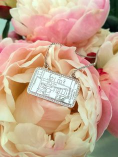 Flowers for Valentine's Day are nice, but giving her a memory to cherish forever is even better. This year, Map Your Moment with a personalized Map Necklace by A.JAFFE. (Today is the last day to order with overnight shipping for guaranteed delivery by Valentine's Day!)
