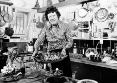 "Julia Child, the ""queen of small screen cuisine,"" would have been 100 years old today. Happy birthday, Julia!"
