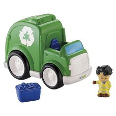Fisher-Price® Little People Recycle Truck