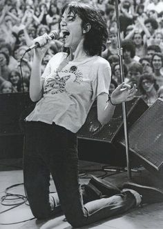 "Patti Smith  ""I think I'm constantly in a state of adjustment."""
