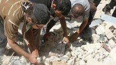 Attacks on civilians in Aleppo 'breach' humanitarian law EU - The Times of Israel