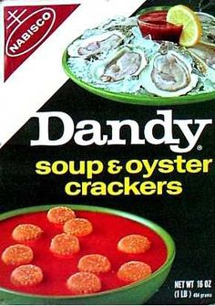Dandy soup and oyster crackers  c. 1965