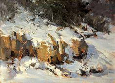 Christmas  by Kaye Franklin Oil ~ 11 x 14